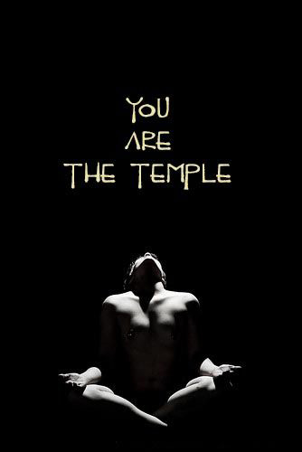 You are the temple