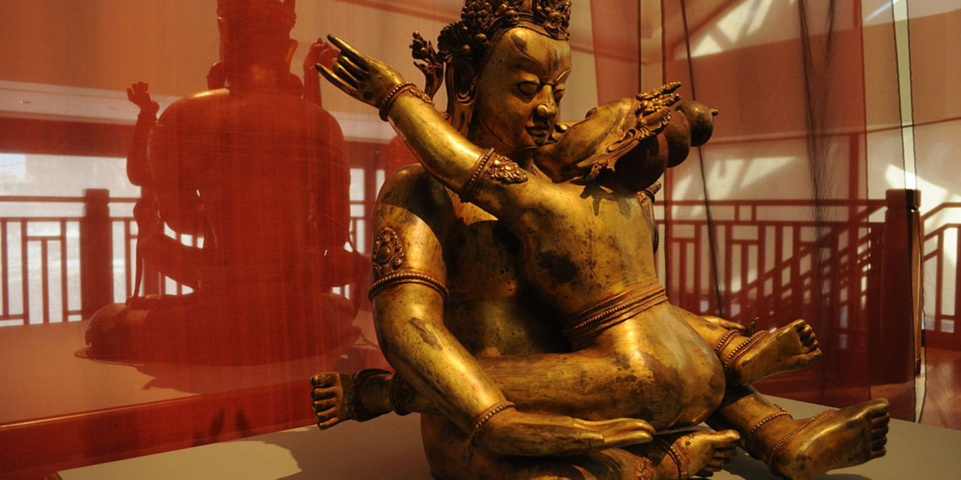 tantra statue at museum